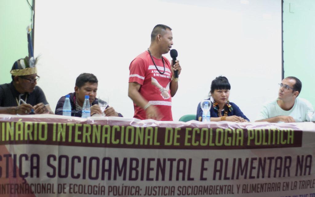 """II """"Conversatório"""" Indígena é destaque no Seminário Internacional de Ecologia Política"""