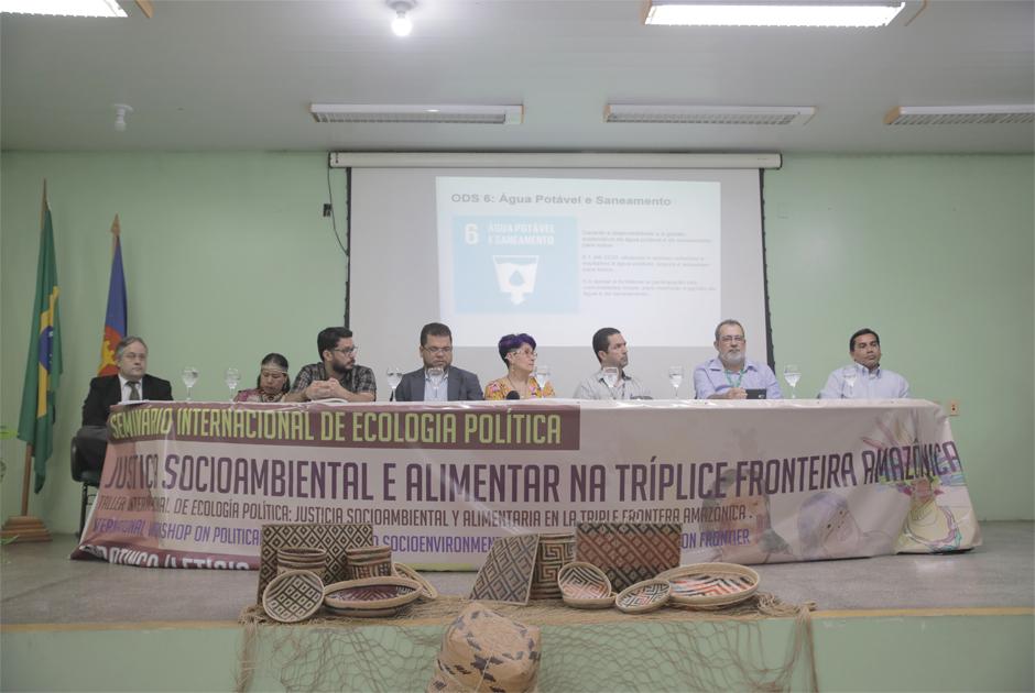 Panorama e crise socioambiental são destaques na abertura do seminário