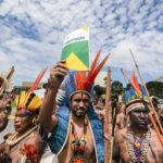 interculturalidade ecologia protesto demarcação