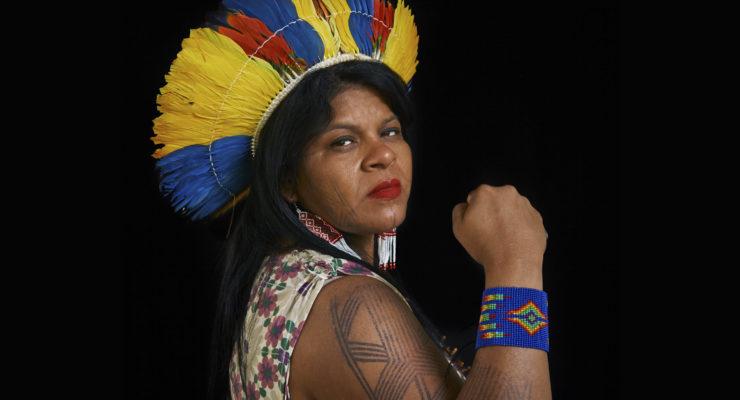 O vôo de Sonia Guajajara