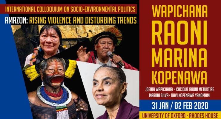 """Colóquio Internacional """"Violência crescente e tendências preocupantes na Amazônia"""""""