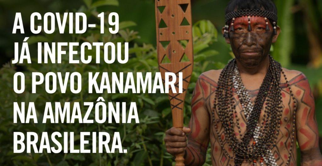 Ajude: a Covid-19 já infectou o povo Kanamari na Amazônia brasileira