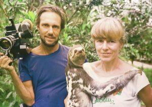 Heidi Mosbacher, mãe das preguiças amazônicas
