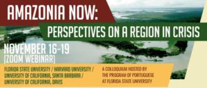 """Inscrições abertas para webinar """"Amazônia agora: perspectivas de uma região em crise""""; veja programação"""