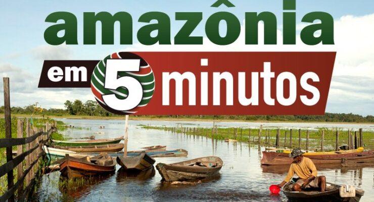 """<span style=""""font-size: 3.5rem;"""">Amazônia em Cinco Minutos #12: movimentos indígenas, um estado de cobaia e Sentipensar com a Terra</span>"""