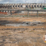 Foto do canteiro de obras de Belo Monte