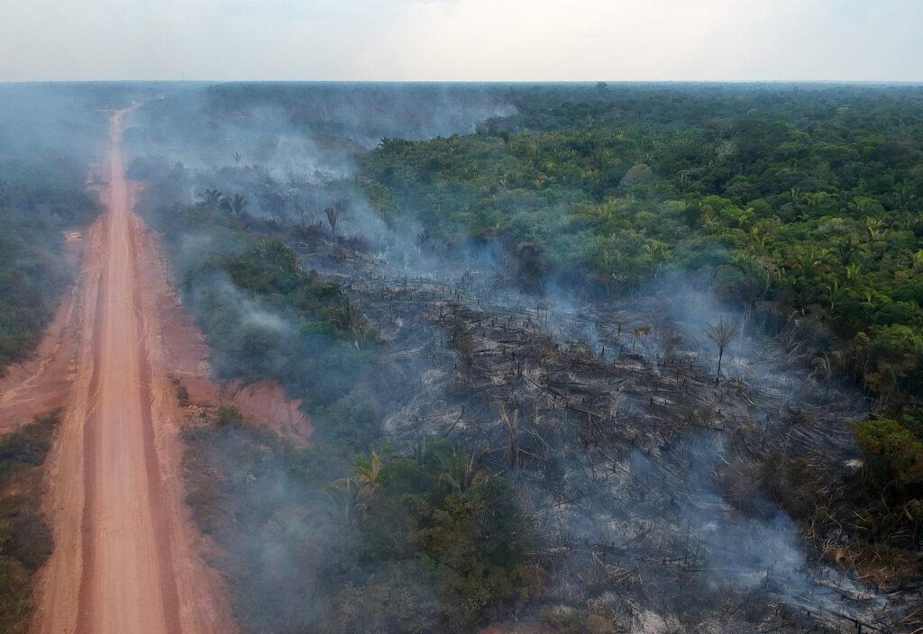 Fotógrafo recebe ameaça de morte após documentar queimadas em Lábrea (AM)