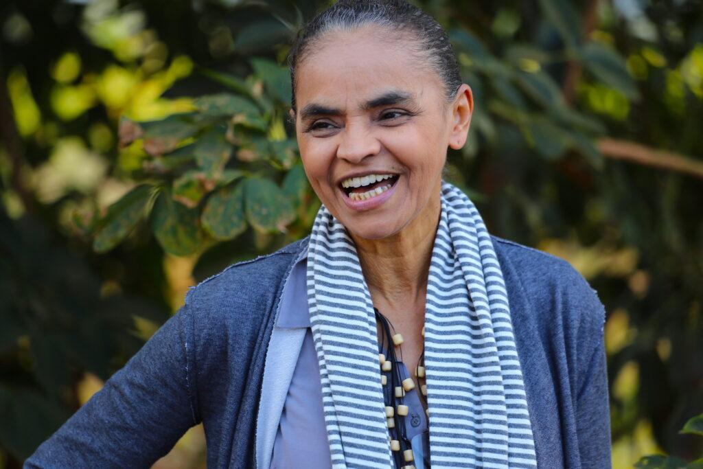 Marina Silva sorrindo