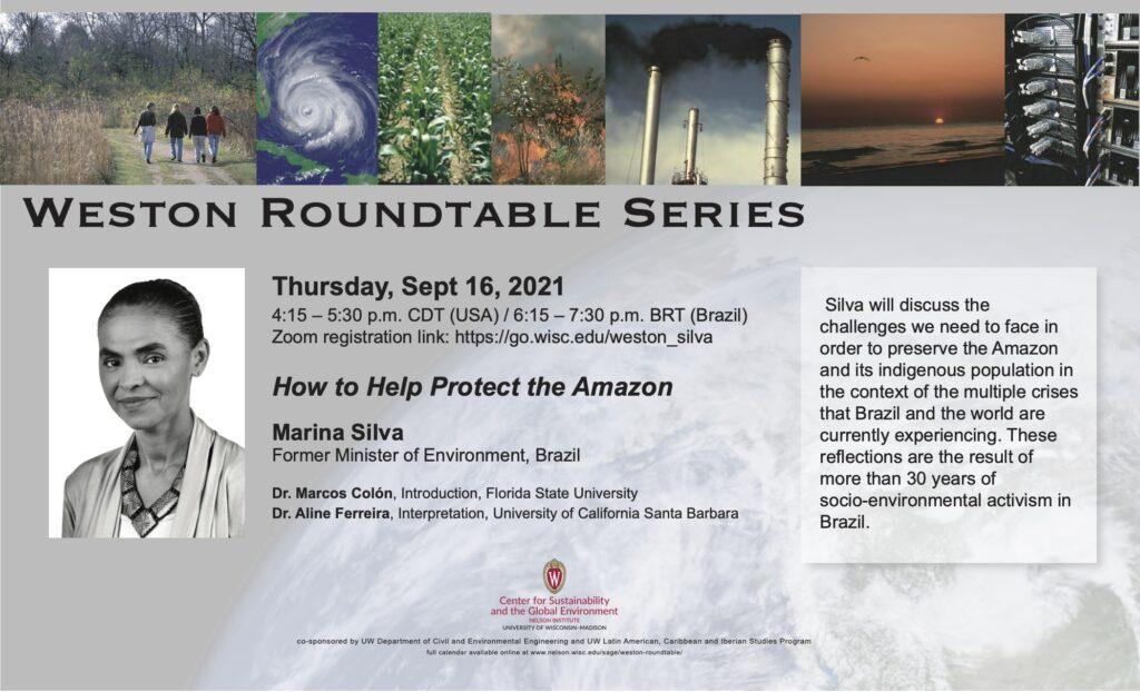 Crise ambiental é problema de natureza ética, diz Marina Silva